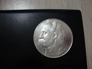 монета Польши 1937серебро