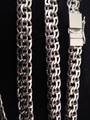 цепочка для мужчин из серебра