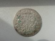 6 грошей Пруссия 1698 г Ag