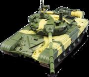 части сборной модели Т-72 ДеАгостини