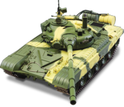 детали и электроника сборной модели танка Т-72 ДеАгостини