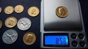 Продам золотые монеты эпохи Николая II (8 монет)