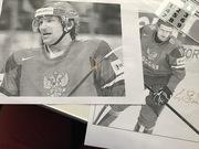 Автографы хоккеистов Малкина и Овечкина.ЦЕНА договорная