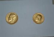 Золотые монеты российской империи